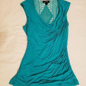A.BYER Green blouse